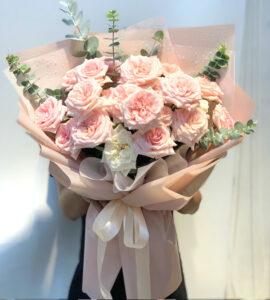 bó hoa hồng sinh nhật